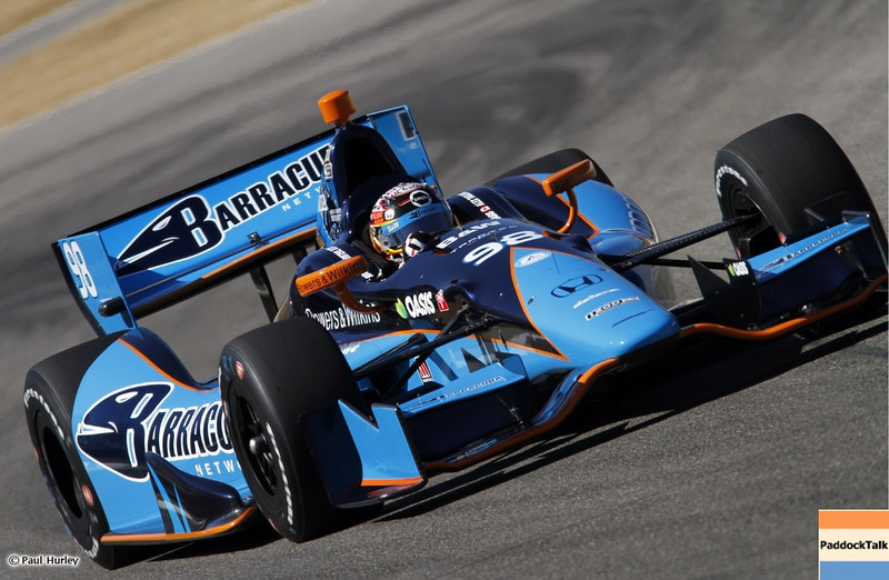 MARCH 12:Alex Tagliani at IndyCar Spring Training at Barber Motor Sports Park.