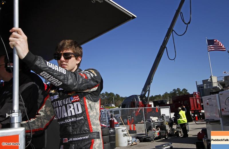 March 13:J.R. Hildebrand at IndyCar Spring Training at Barber Motor Sports Park.