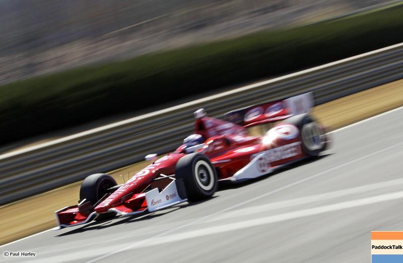 MARCH 12:Scott Dixon at IndyCar Spring Training at Barber Motor Sports Park.