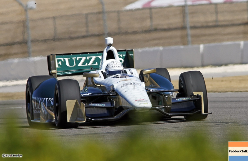 MARCH 12:Ed Carpenter at IndyCar Spring Training at Barber Motor Sports Park.