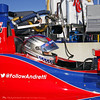 MARCH 12:Marco Andretti at IndyCar Spring Training at Barber Motor Sports Park.
