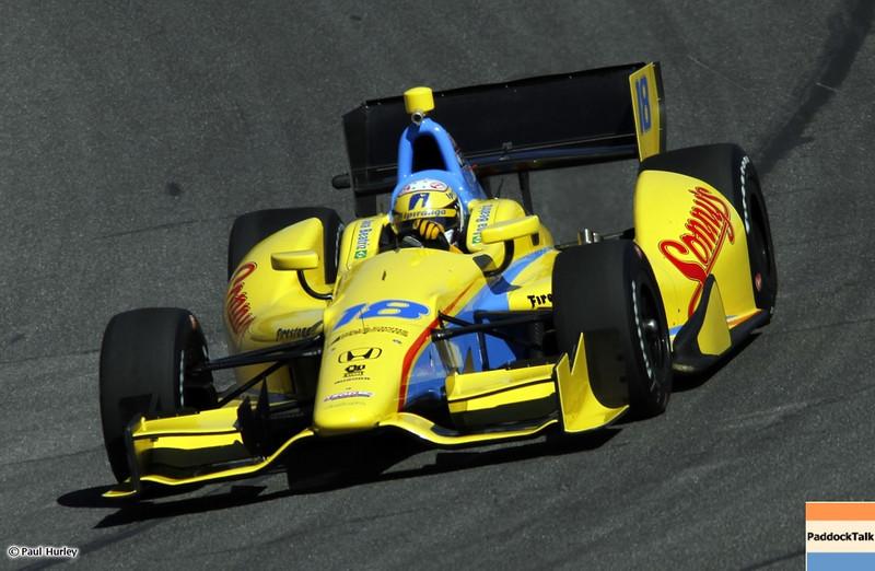 March 13:Ana Beatriz at IndyCar Spring Training at Barber Motor Sports Park.