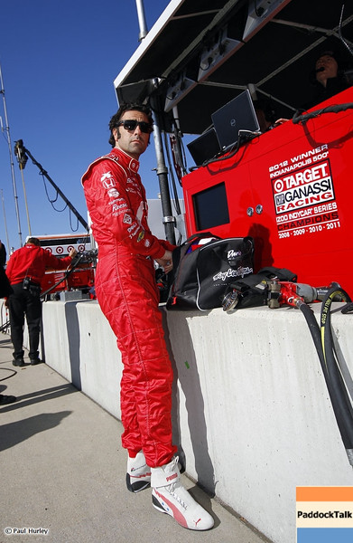 March 13:Dario Franchitti at IndyCar Spring Training at Barber Motor Sports Park.