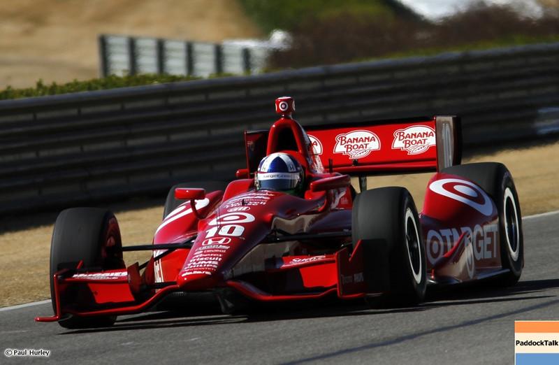 March 13:Dario Franchitti at IndyCar Spring Training at Barber Motor Sports Park.