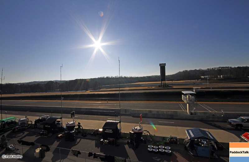 MARCH 12:Sunrise at IndyCar Spring Training at Barber Motor Sports Park.