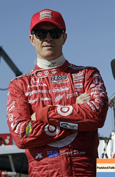 March 13:Scott Dixon at IndyCar Spring Training at Barber Motor Sports Park.