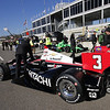 MARCH 12:Pit lane at IndyCar Spring Training at Barber Motor Sports Park.