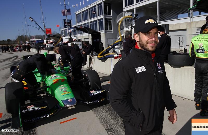 March 13:E.J Viso at IndyCar Spring Training at Barber Motor Sports Park.