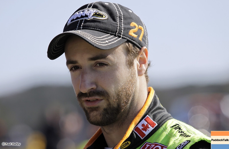 March 13:James Hinchcliffe at IndyCar Spring Training at Barber Motor Sports Park.