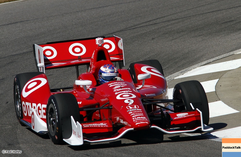 MARCH 12:Scott Dixon at IndyCar Spring Training at Barber Motor Sports Park.