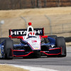 MARCH 12:Helio Castroneves at IndyCar Spring Training at Barber Motor Sports Park.