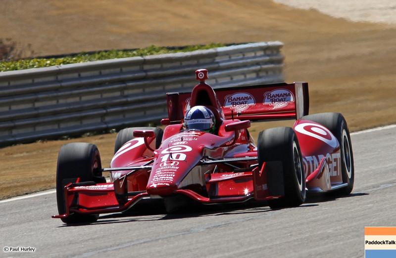 MARCH 12:Dario Franchitti at IndyCar Spring Training at Barber Motor Sports Park.