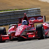MARCH 12:Dario Franchitti at IndyCar Spring Training at Barber Motor Sports Park.