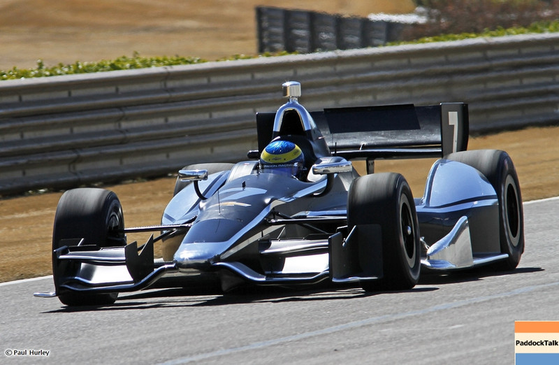 MARCH 12:Sebastien Bourdais at IndyCar Spring Training at Barber Motor Sports Park.