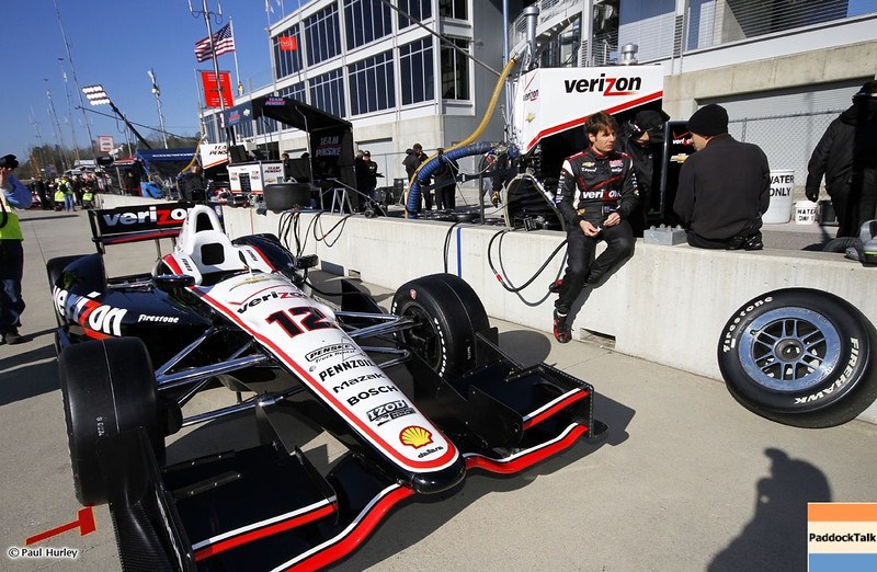 MARCH 12:Will Power at IndyCar Spring Training at Barber Motor Sports Park.