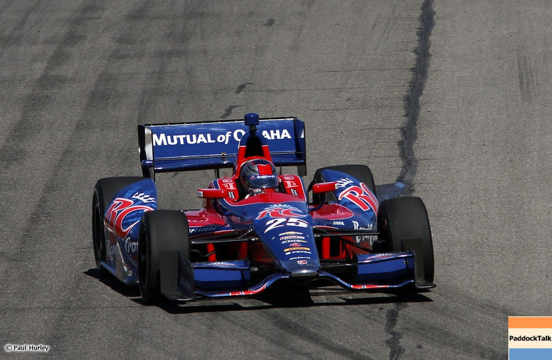MARCH 12: Marco Andretti at IndyCar Spring Training at Barber Motor Sports Park.