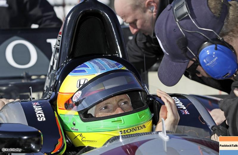 MARCH 12:James Jakes at IndyCar Spring Training at Barber Motor Sports Park.