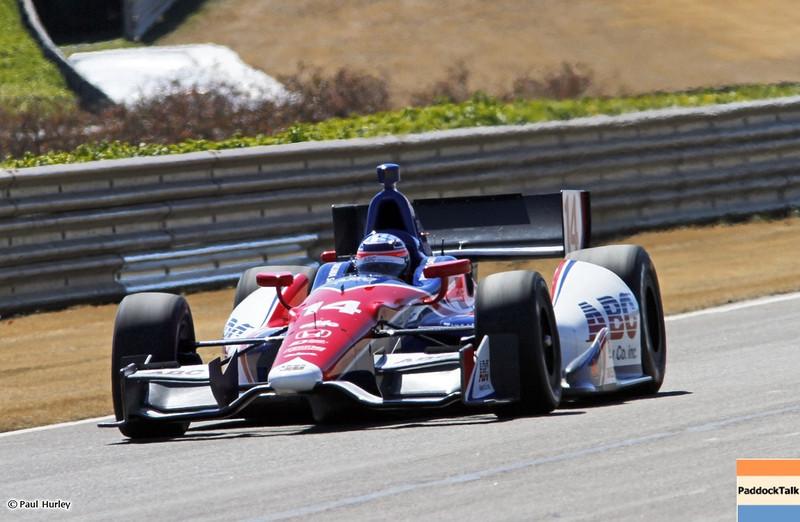 MARCH 12:Takuma Sato at IndyCar Spring Training at Barber Motor Sports Park.