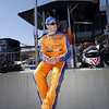 MARCH 12:Charlie Kimball  at IndyCar Spring Training at Barber Motor Sports Park.