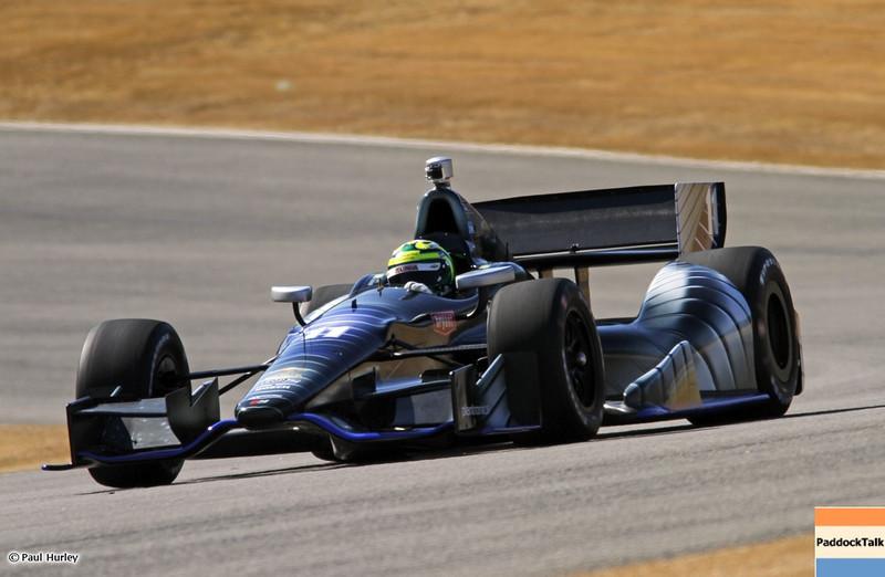 MARCH 12:Tony Kanaan at IndyCar Spring Training at Barber Motor Sports Park.