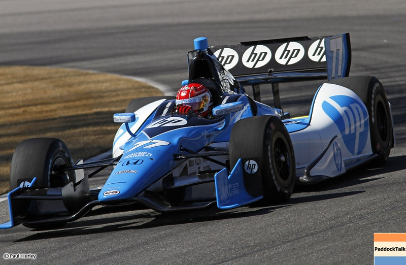 March 13:Simon Pagenaud at IndyCar Spring Training at Barber Motor Sports Park.