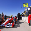 MARCH 12:E.J. Viso at IndyCar Spring Training at Barber Motor Sports Park.