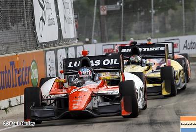 June 2: Tristen Vautier during the Chevrolet Detroit Belle Isle Grand Prix.