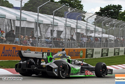 June 2: Tony Kanaan during the Chevrolet Detroit Belle Isle Grand Prix.