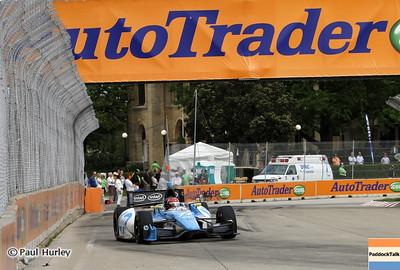 June 2: Simon Pagenaud during the Chevrolet Detroit Belle Isle Grand Prix.
