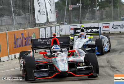 June 2: Ryan Briscoe during the Chevrolet Detroit Belle Isle Grand Prix.