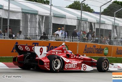 June 2: Scott Dixon during the Chevrolet Detroit Belle Isle Grand Prix.