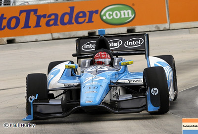 June 2: Simon Pagenaud during the Chevrolet Detroit Belle Isle Grand Prix.
