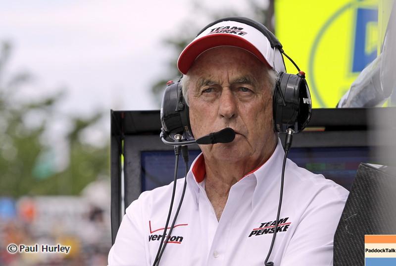 June 1: Roger Penske during the Chevrolet Detroit Belle Isle Grand Prix.