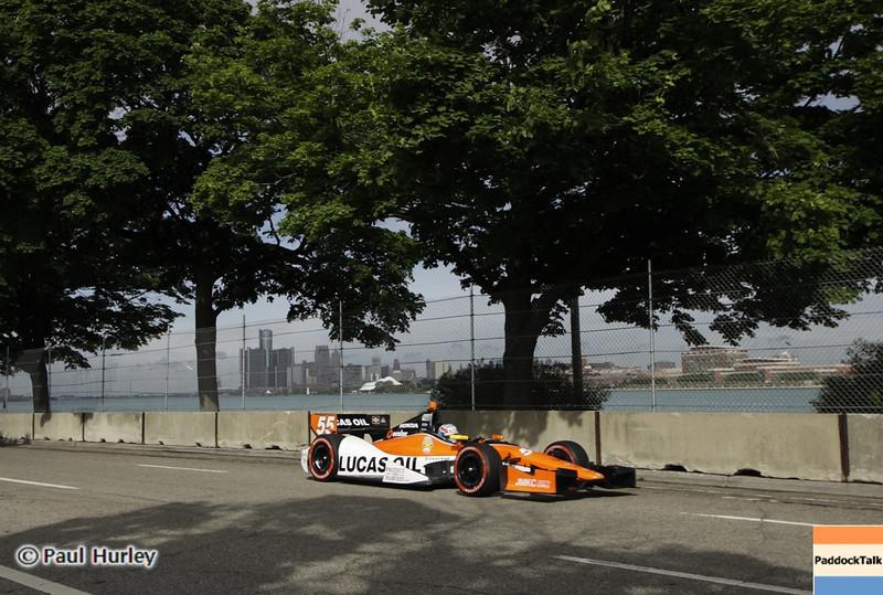 June 1: Tristan Vautier during the Chevrolet Detroit Belle Isle Grand Prix.