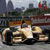 June 1: Ryan Hunter-Reay during the Chevrolet Detroit Belle Isle Grand Prix.