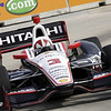 June 1: Helio Castroneves during the Chevrolet Detroit Belle Isle Grand Prix.