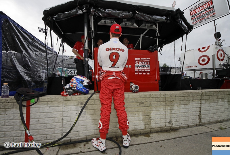 June 1: Scott Dixon during the Chevrolet Detroit Belle Isle Grand Prix.