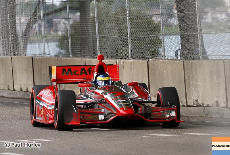 June 1: Sabastien Bourdais during the Chevrolet Detroit Belle Isle Grand Prix.