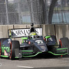 June 1: Tony Kanaan during the Chevrolet Detroit Belle Isle Grand Prix.