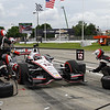June 1: Will Power during the Chevrolet Detroit Belle Isle Grand Prix.