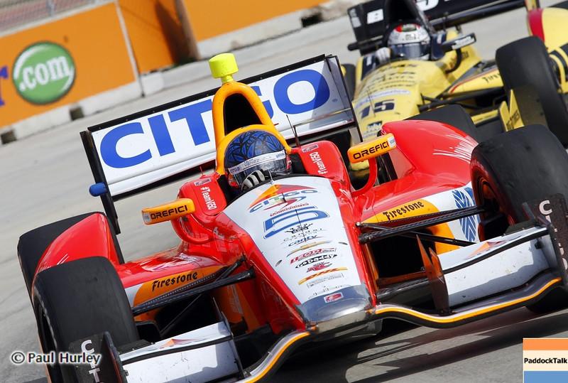 June 1: E.J. Viso during the Chevrolet Detroit Belle Isle Grand Prix.
