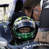May13: Tony Kanaan during practice for the 97th Indianapolis 500 at the Indianapolis Motor Speedway.