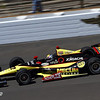 May 14: Oriol Servia during practice for the 97 Indianapolis 500 at the Indianapolis Motor Speedway.