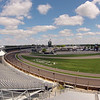 May 12: The first turn during practice for the 97th Indianapolis 500 at the Indianapolis Motor Speedway.