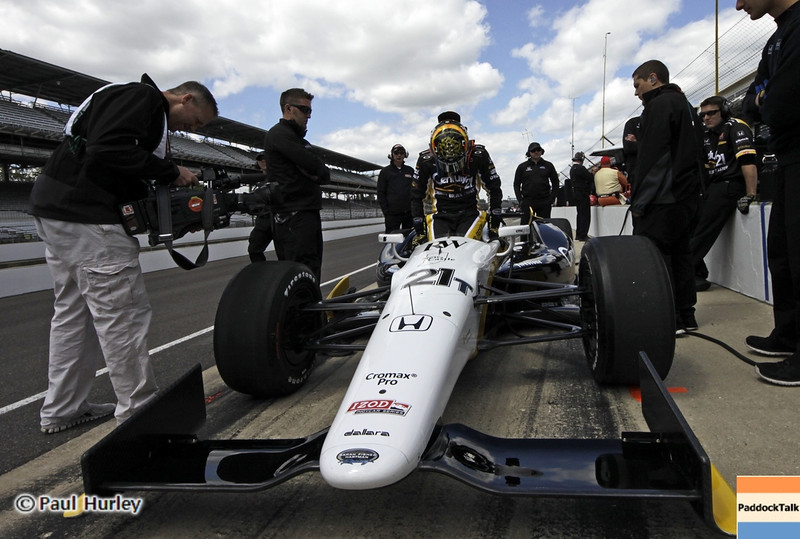 May 12:  Josef Newgarden during practice for the 97th Indianapolis 500 at the Indianapolis Motor Speedway.