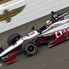 May 17: James Jakes during practice for the 97th Indianapolis 500 at the Indianapolis Motor Speedway.