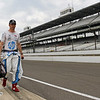 May 16: Simon Pagenaud during practice for the 97th Indianapolis 500 at the Indianapolis Motor Speedway.