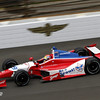 May 17: Justin Wilson during practice for the 97th Indianapolis 500 at the Indianapolis Motor Speedway.