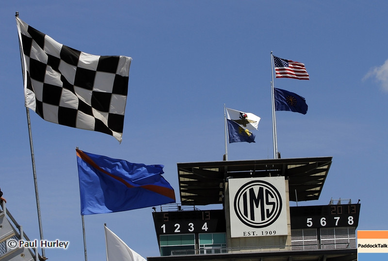 May13: The Pagoda during practice for the 97th Indianapolis 500 at the Indianapolis Motor Speedway.