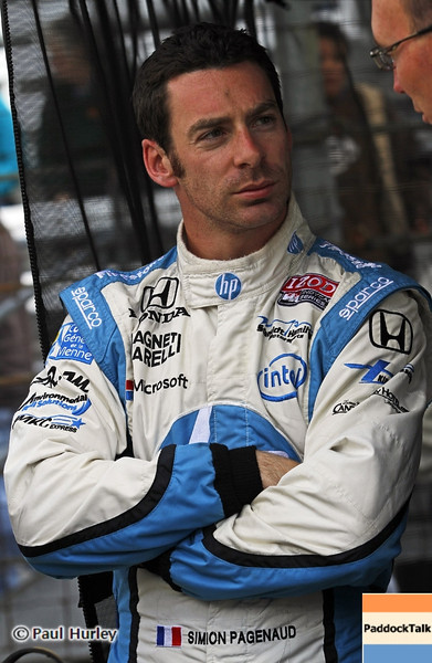 May 12: Simon Pagenaud during practice for the 97th Indianapolis 500 at the Indianapolis Motor Speedway.